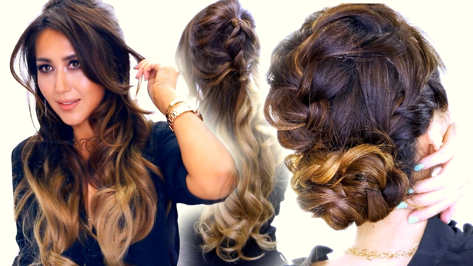 Three Fancy Hairstyles for Long Hair You Can Do in Five Minutes Only
